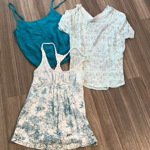 Tops - Lot of three women's extra small tops
